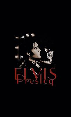 The King Digital Art - Elvis - Memories by Brand A