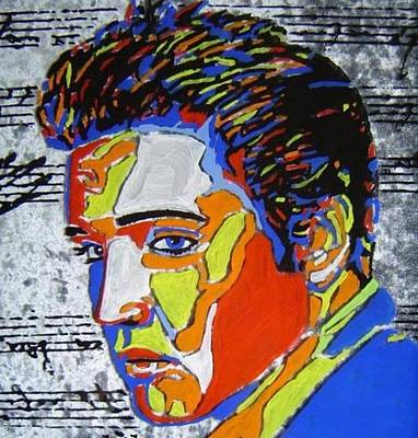Digital Art - Elvis -n Colors by Photo Shirts