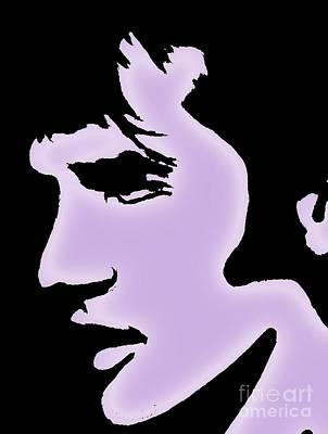Elvis Pop Art Style Art Print