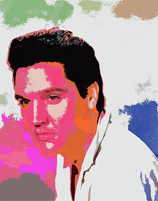Stellar Interstellar - Elvis Presley - 2 by Chris Smith