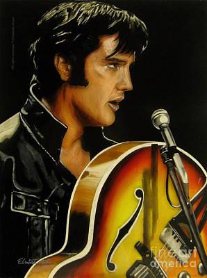 Elisabetta Artusi Painting - Elvis Presley by Betta Artusi
