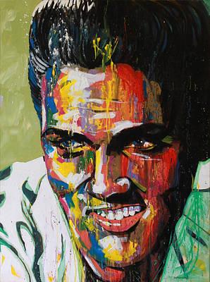 Elvis Presley Original by Bruce McLachlan