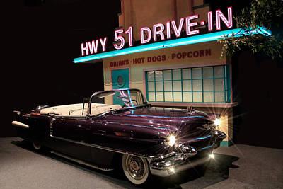Photograph - Elvis Presley Cadillac by Carlos Diaz