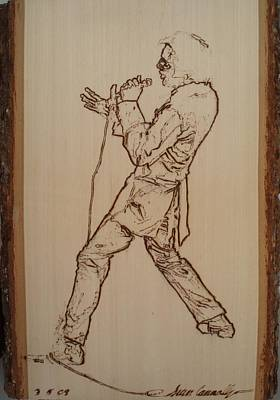 Pyrography Pyrography - Elvis Presley - If I Can Dream by Sean Connolly