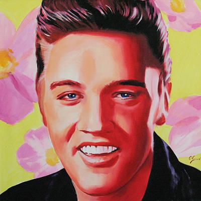 Painting - Elvis Presley by Jana Fox
