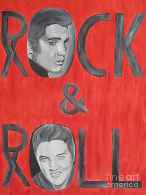 Elvis Presley King Of Rock And Roll Original by Jeepee Aero