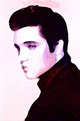 Elvis Aaron Presley Digital Art - Elvis Presley by Krystal Chasez