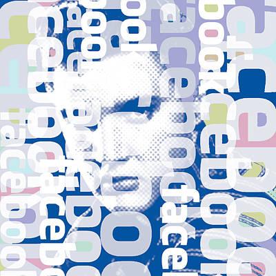 Elvis Presley On Facebook Original by Tony Rubino
