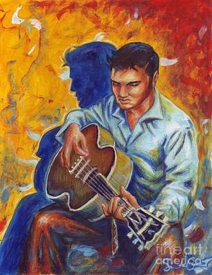 Painting - Elvis Presley by Samantha Geernaert