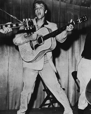 King Of Rock And Roll Photograph - Elvis Presley  by Retro Images Archive