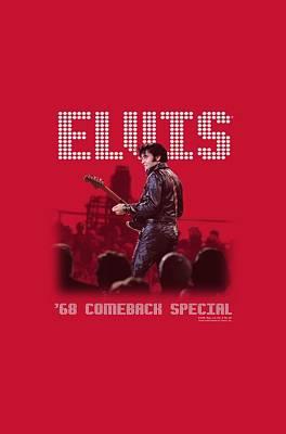 King Of Rock Digital Art - Elvis - Return Of The King by Brand A