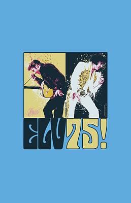 King Of Rock Digital Art - Elvis - Still The King by Brand A