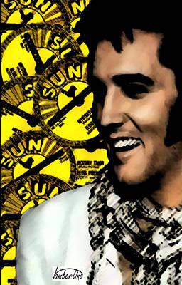 Elvis Sun Original by David Lambertino
