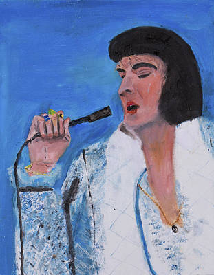 Painting - Elvis by Swabby Soileau