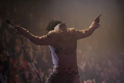 Elvis Impersonators Photograph - Elvis/the Final Curtain by Paul Keeling