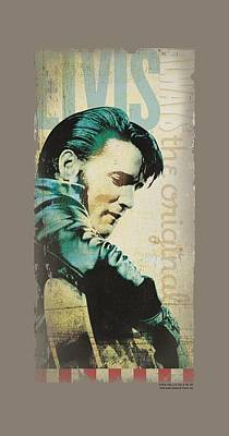 The King Digital Art - Elvis - The Original by Brand A