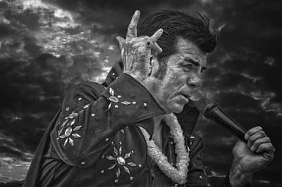 Elvis Impersonators Photograph - Elvis Tour Napanee by John Herzog