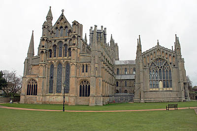 Photograph - Ely Cathedral The Lady Chapel by Tony Murtagh