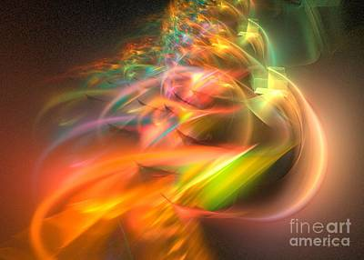 Surrealism Digital Art Rights Managed Images - Elysium Royalty-Free Image by Sipo Liimatainen
