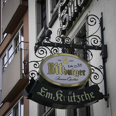 Em Krutzche Restaurant Sign Art Print