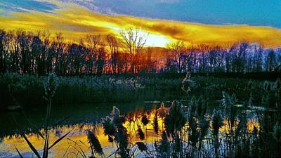 Emagin Sunset Art Print by Daniel Thompson