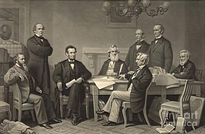 Emancipation Proclamation 1866 Art Print by Padre Art