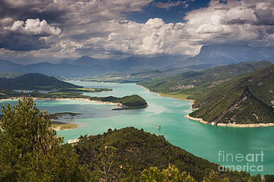 Embalse De Mediano 1 Art Print by Michael David Murphy