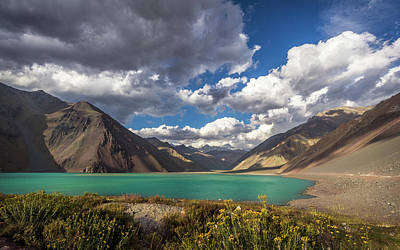 Embalse El Yeso Art Print by Marcelo Freire Photography