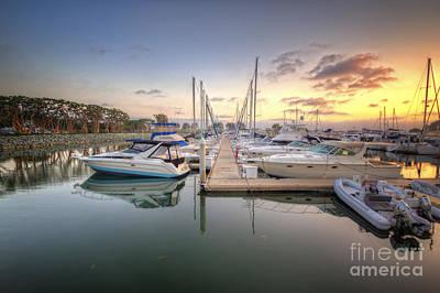 Photograph - Embarcadero Marina 3.0 by Yhun Suarez