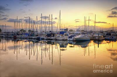 Photograph - Embarcadero Marina 4.0 by Yhun Suarez
