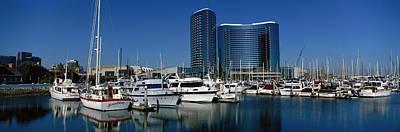 Embarcadero Photograph - Embarcadero Marina Hotel, San Diego by Panoramic Images