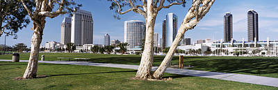 Embarcadero Marina Park, San Diego Art Print by Panoramic Images