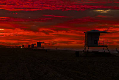 Art Print featuring the photograph Embers Of Dawn by Duncan Selby