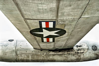 Jet Star Photograph - Emblem Underneath by Christi Kraft