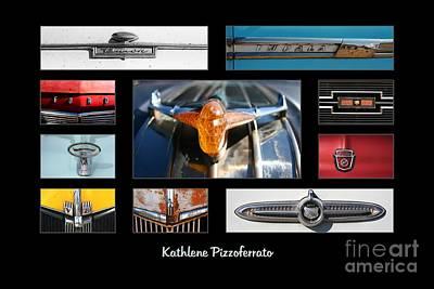 Emblems And Ornaments Art Print by Kathlene Pizzoferrato