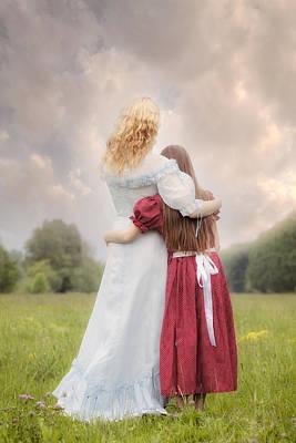 Sisters Photograph - Embrace by Joana Kruse
