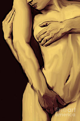 Painting - Embrace by Thomas Oliver