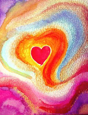 Painting - Embraced By Love by Sandra Yegiazaryan