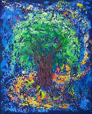 Killen Painting - Embracing by William Killen