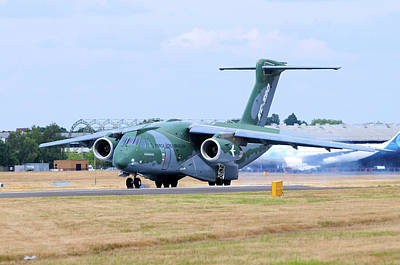 Photograph - Embraer Kc-390 Tanker Transport by Riccardo Niccoli
