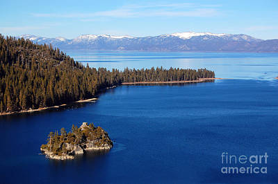 Photograph - Emerald Bay And Fannette Island by Debra Thompson