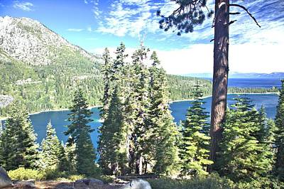 Photograph - Emerald Bay by Gordon Elwell