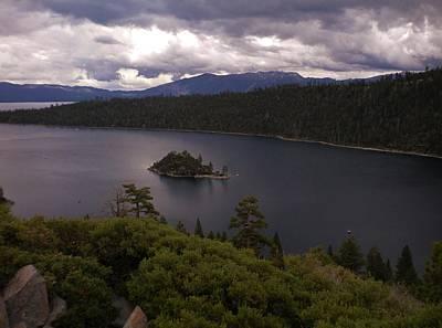 Photograph - Emerald Bay Lake Tahoe by Marilyn MacCrakin