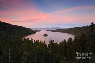 Dark Woods At Sunset Photograph - Emerald Bay by Mariusz Blach