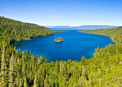 Photograph - Emerald Bay Panorama - Lake Tahoe by John Waclo