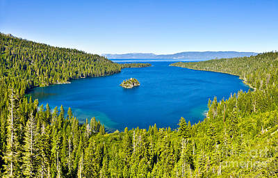 Photograph - Emerald Bay - Lake Tahoe by John Waclo