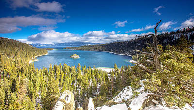Photograph - Emerald Bay by Robert  Aycock