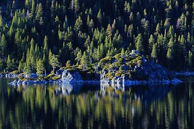 Art Print featuring the photograph Emerald Bay Teahouse by Sean Sarsfield