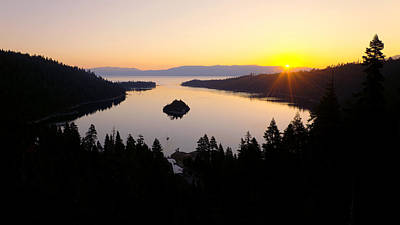 Lake Tahoe Photograph - Emerald Dawn by Chad Dutson