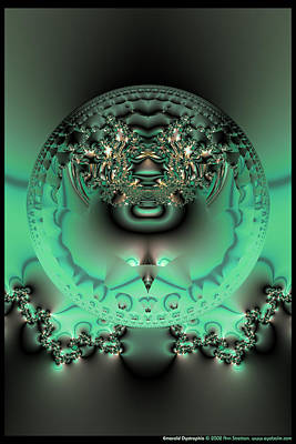 Have A Cupcake - Emerald Dystrophia  by Ann Stretton